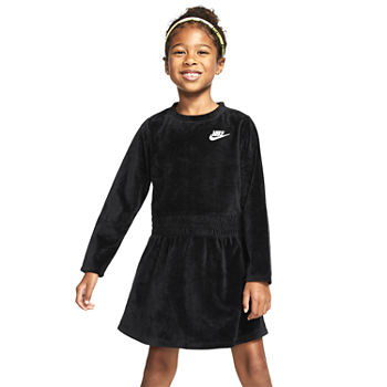 Nike Toddler Girls Long Sleeve Sweater Dress