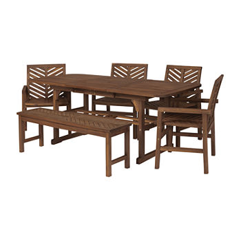 Vincent Collection 6-pc. Patio Dining Set