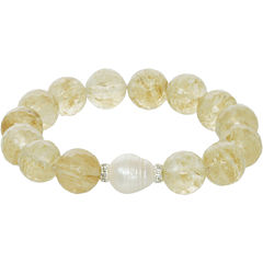 ROX by Alexa Quartz & Cultured Freshwater Pearl Bracelet