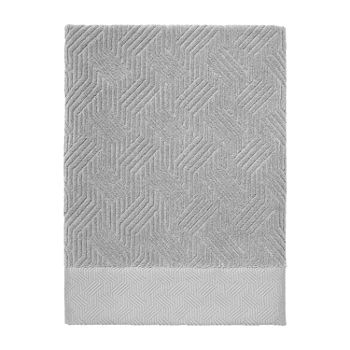 Now House By Jonathan Adler Bleecker Geometric Bath Towel
