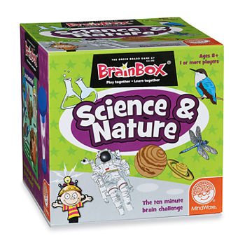 Mindware Brain Box Learning Game - Science  Nature