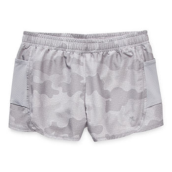 Xersion Little & Big Girls Adjustable Waist Running Short