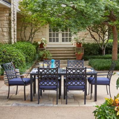 Rectangular Patio Dining Set. Add To Cart. Black. $552.49