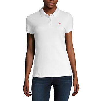 2e2eece18 Womens Polo Shirts - JCPenney