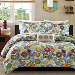 Mi Zone Asha Paisley Comforter Set & Accessories