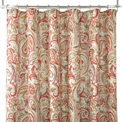 Jcpenney Home Paisley   Shower Curtains