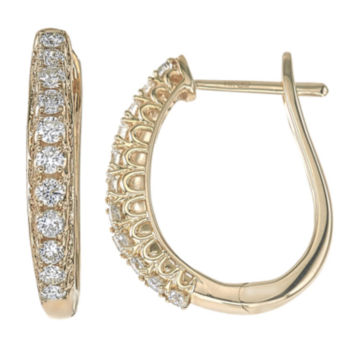 14k Gold Hoop Earrings Fine Earrings For Jewelry Watches Jcpenney