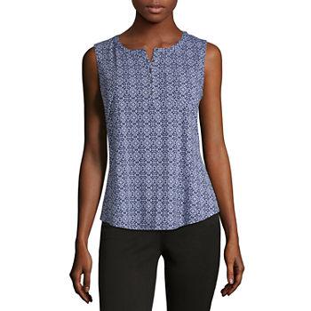 d83448c1b4407 Liz Claiborne T-shirts Tops for Women - JCPenney