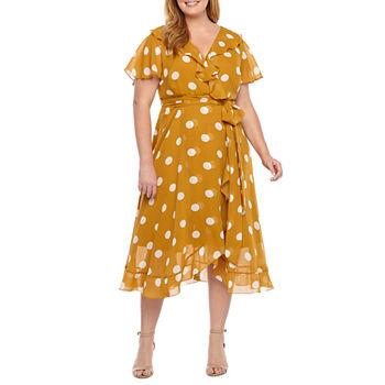 6a02e38b60b3e Danny & Nicole Plus Size Dresses for Women - JCPenney