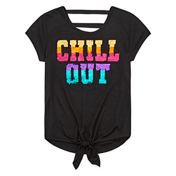 f9717797e Sequins Shirts & Tees for Kids - JCPenney