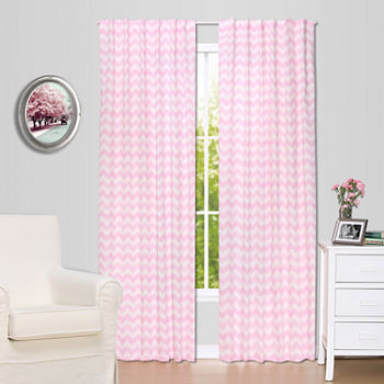 The Peanutshell Peanut Shell Mix And Match Rod-Pocket Curtain Panel