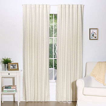 The Peanutshell Mix And Match Rod-Pocket Curtain Panel