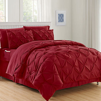 queen red comforters & bedding sets for bed & bath - jcpenney