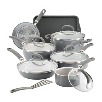 Rachael Ray Create Delicious 13-pc. Aluminum Non-Stick Cookware Set