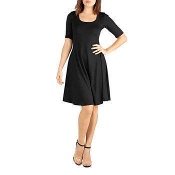 0d5b1940c78 3 4 Sleeve Dresses for Women - JCPenney