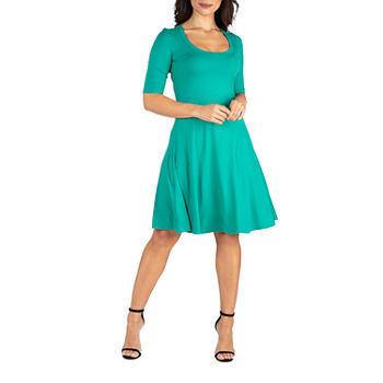 68128891dd1d 3/4 Sleeve Dresses for Women - JCPenney