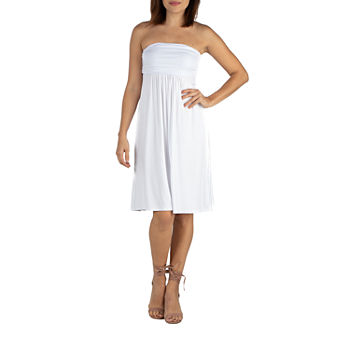 5be5d37f4caf Women's Little White Dress, White Graduation Dresses - JCPenney