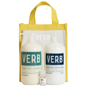 Verb Hydrating Shampoo and Conditioner Jumbo Set for Dry and Damaged Hair
