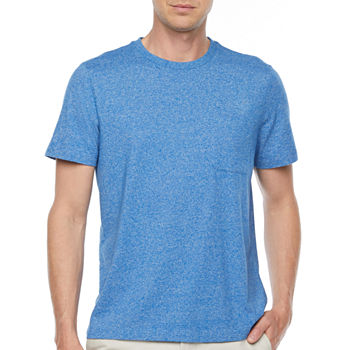 St. John's Bay Pocket Mens Crew Neck Short Sleeve T-Shirt