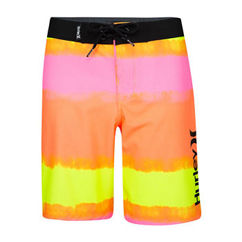 Hurley Little Boys Tie Dye Board Shorts