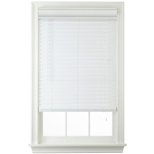 JCPenney Home™ 2 Faux-Wood Horizontal Blinds