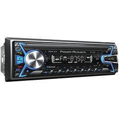Power Acoustik PL-51B Single-DIN In-Dash Digital Audio Receiver (Bluetooth; Detachable Face)