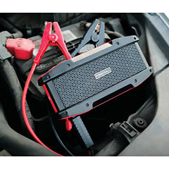 POWERALL PBJS16000WS 600-Amp Journey Jump Starterwith 5-Watt Bluetooth Speaker; 16;000mAh Power Bank & LED Flashlight