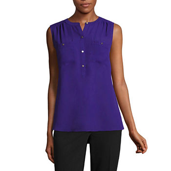 2ca73831b6f65 Henley Shirts Purple Tops for Women - JCPenney