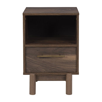 Signature Design by Ashley Calverson Bedroom Collection 1-Drawer Nightstand