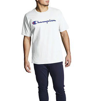 Champion Mens Crew Neck Short Sleeve T-Shirt