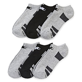 Champion 6 Pack No-Show Socks- Womens