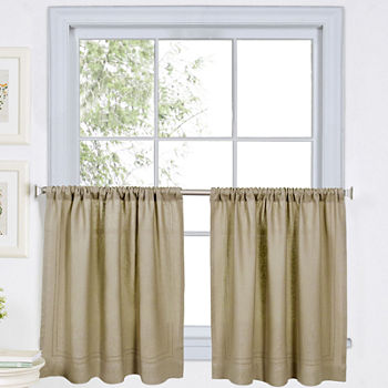 24 Inch Beige Curtains D For