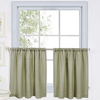 Green Kitchen Curtains For Window