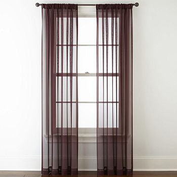 Purple Sheer Curtains For Window