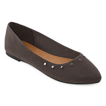 d9830ab94 Ballet Flats Gray Women's Flats & Loafers for Shoes - JCPenney
