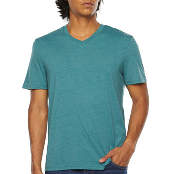 Arizona  Everday Fit Mens V Neck Short Sleeve T-Shirt