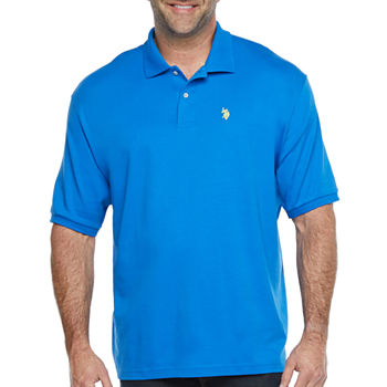 Us Polo Assn. Big and Tall Mens Short Sleeve Polo Shirt