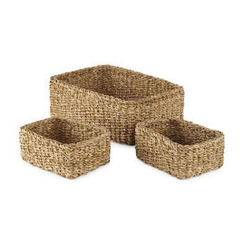 Linden Street Rectangle 3-pc. Basket