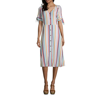 29be74ed42e A.n.a Short Sleeve Dresses for Women - JCPenney