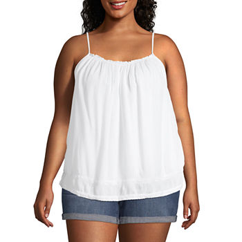 a0c196f82d95f2 Arizona Tank Tops Tops for Women - JCPenney