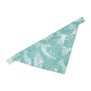 Paw And Tail Palm Print Pet Bandana