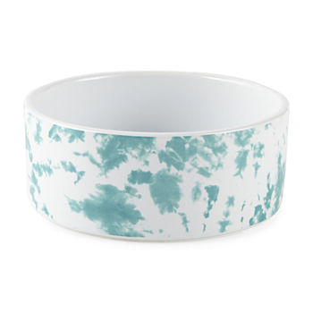 Paw And Tail Tie Dye Dog Food Bowl