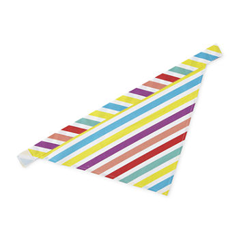 Paw And Tail Stripe Pet Bandana