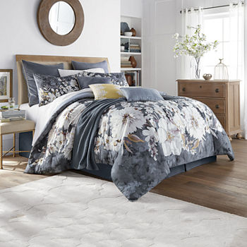 Eden & Oak Rowan 10-pc. Floral Comforter Set