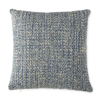 Linden Street Solid Space Dye Square Throw Pillow