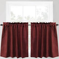 Park B. Smith® Cortina Rod-Pocket Window Tiers