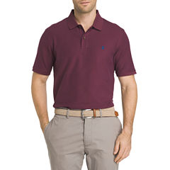IZOD Advantage Short Sleeve Solid  Polo Shirt