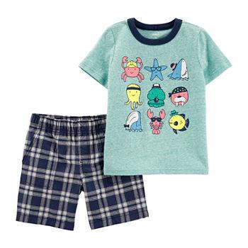 1699b1840b80 Carter s 2-pc. Short Set Toddler Boys