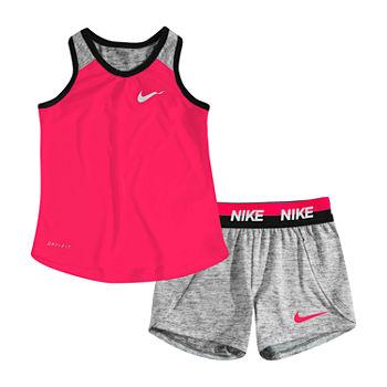 ad90eb8c2 Nike 2-pc. Short Set Girls. Add To Cart. New. Black Heather
