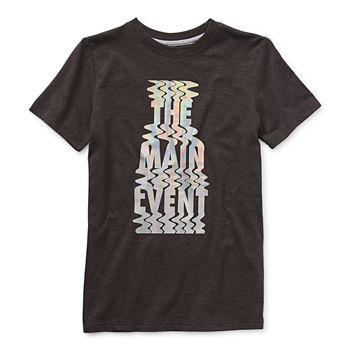 Xersion Little & Big Boys Crew Neck Short Sleeve Graphic T-Shirt